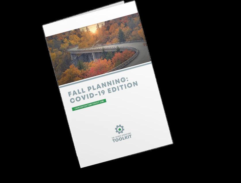 Fall 2020 Planning Checklist COVID-19 Edition