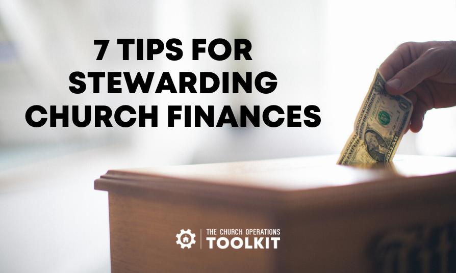 Stewarding church finances