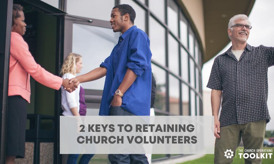 Retaining church volunteers